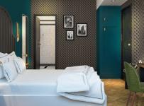 抚顺酒店装修设计效果图案例