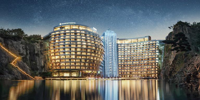 世茂深坑酒店工装设计效果图案例