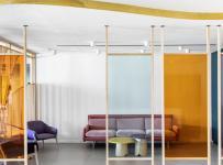 NUVO公司總部辦公室工裝效果圖案例