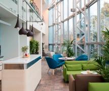 莫斯科肯德基新辦公室工裝效果圖案例