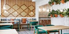 挪威田园风格餐厅装修案例