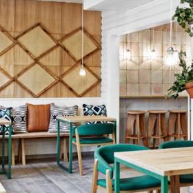 挪威田園風格餐廳裝修案例