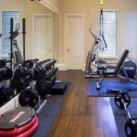 简约健身房室内效果图