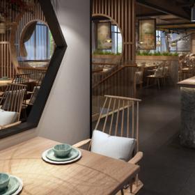 成都蓉城小館中式餐廳裝修案例