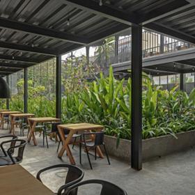 Sunrise花園餐廳裝修效果圖案例