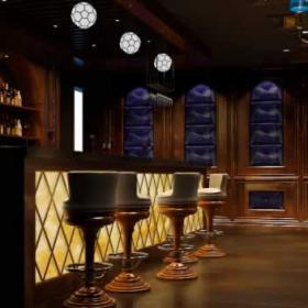 酒吧室內設計 酒吧吧臺工裝效果圖