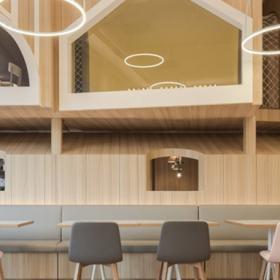 维塔兰德亲子餐厅装潢设计效果图案例