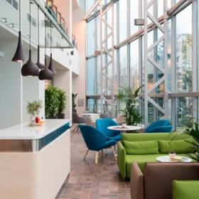 莫斯科肯德基新办公室工装效果图案例