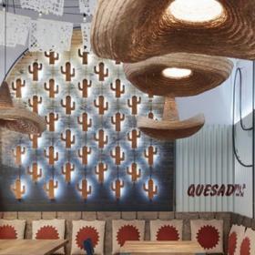 Burrito Loco連鎖餐廳裝修設計案例