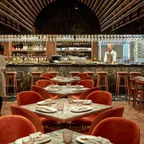 悉尼CBD天台上的酒吧餐厅设计效果图案例