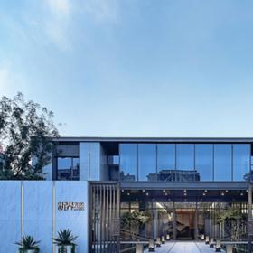 新界2020售楼处工装设计效果图案例
