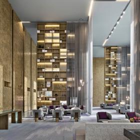 太原皇冠假日酒店工装设计效果图案例