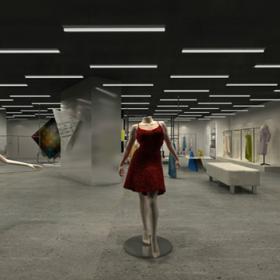 最新时尚服装店设计图片