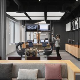 NetApp科技公司办公室工装案例