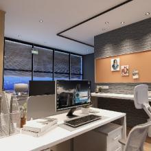 華盛盛薈48㎡辦公空間現代簡約7萬元