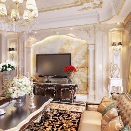 龍歸龍恩花園90㎡三居歐式豪華9萬元
