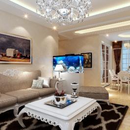 金宏豪庭110㎡三居歐式豪華9萬元