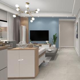 現代簡約客廳吊頂裝修圖片2021