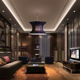 宾馆客厅精致装修图 宾馆装修实景图