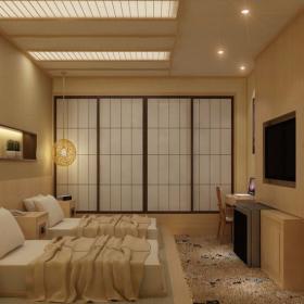 日式宾馆客房图片