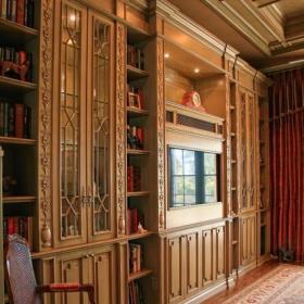 欧式风格酒店式公寓原木色家居6平米卧室卧室地台设计图效果图