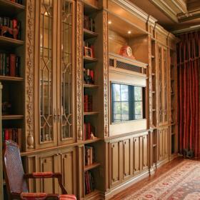 欧式风格酒店式公寓原木色家居6平米卧室卧室地台设计图