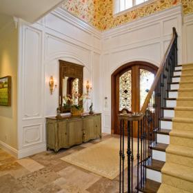 现代欧式风格单身公寓设计图2012卧室卧室地台装修图片