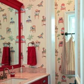欧式风格单身公寓设计图卧室粉色2012卧室客厅地台设计效果图