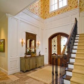 现代欧式风格单身公寓设计图2012卧室卧室地台装修图片效果图