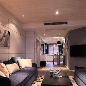 简约风格20万以上120平米客厅沙发效果图