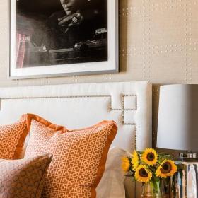 小户型小卧室混搭风格20平米现代简约客厅设计图纸效果图