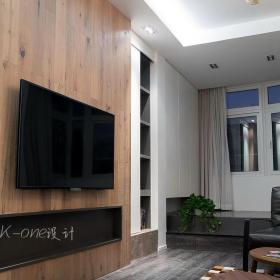 简约时尚2013客厅装修电视墙图片效果图大全