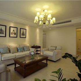 简约欧式风格客厅家具图片装修效果图