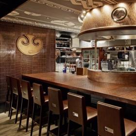 酒吧吧台设计图效果图