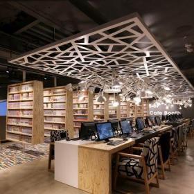 书馆网吧效果图