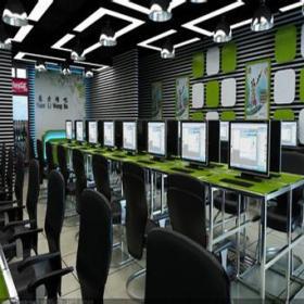 现代风格网吧装修效果图-现代风格网吧椅图片