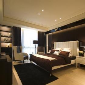 现代风格20平米复式卧室装修效果图